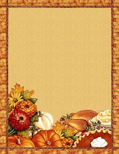 free thanksgiving_blank recipe page Printable Recipe Cards, Printable Paper, Thanksgiving Greeting Cards, Thanksgiving Menu, Fun Crafts For Kids, Planner Pages, Note Paper, Paper Cards, Scrapbook Paper