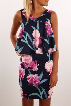 All For You Dress Navy