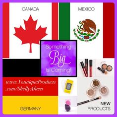 Exciting news with Younique! New Markets and 6 great NEW products-Lip Stains in 7 new colors, Bronzers, Cream Eye Shadows, Cream Eye Shadow Brush, Eye Makeup remover wipes and Blending Buds! New produ 3d Fiber Lashes, 3d Fiber Lash Mascara, Remove Makeup From Clothes, Makeup Remover Wipes, Makeup Removers, Something Big, Cream Eyeshadow, New Market, How To Feel Beautiful