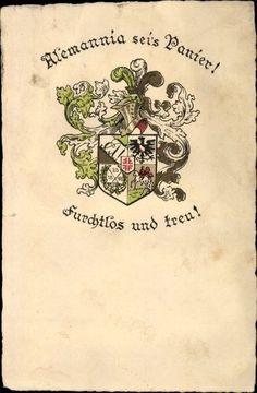 Studentika Ak Berlin, Alemania sei s Panier, furchtlos und treu, A... - 1270846