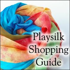 Everything you need to know about buying quality playsilks! #waldorf #playsilk #toy #children -- didn't know there was a guide! Needed this in July!