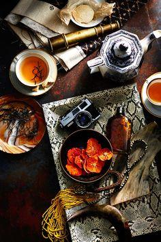 This Tea Rituals Around the World slideshow at Condé Nast Traveler (condenasttraveler) is a tea-lover's delight! Never before have I seen tea time look so sumptuous. Click through the slideshow to. Pu Erh, Chocolate Cafe, Tea Culture, Tea Art, How To Make Light, Tea Ceremony, C'est Bon, Tea Recipes, High Tea