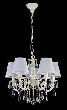 Elegant Kronleuchter Filomena Ivory #kronleuchter #klassisch #kristall
