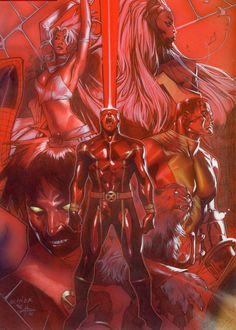 astonishingx:  X-Men by Olivier Coipel