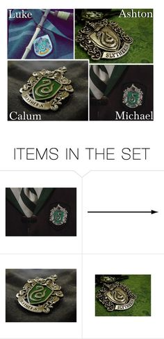 """""""You're A Slytherin!"""" by x5sosxpreferencesx ❤ liked on Polyvore featuring art"""