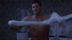 Dean Winchester Sexy HOT GIFs | He's still pretty upset about it.