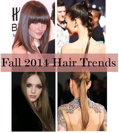Get The Look: Fall 2014 Hair Trends +  Dove Pure Care Dry Oil collection via @jackieofsps #silkyhairdare