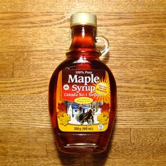 100% Pure Maple Syrup Canada No.1 Medium //// #MapleSyrup //// http://www.bernards.ca/en/products-page/sirop-drable-pur/sirop-derable-pur-8-5floz-251ml/ / #s8jp