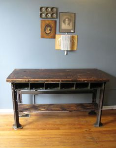 RevivalSmith boutique vintage workbench
