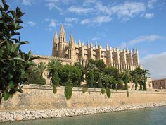 Palma de Mallorca is the major port on the island of Majorca and the capital of the autonomous community of the Balearic Islands in Spain. The city is located on north western end of a bay in the south coast of the island on the Bay of Palma.
