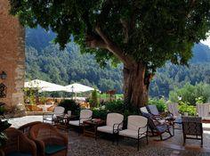 Day Terrace at Solivaret. #Mallorca. Spain. solivaret.com