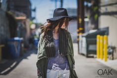 Tassia Boatman | Venice, CA | Photographed by  Michael Dumler | Greg Lauren coat, Reinhard Plank Hat |