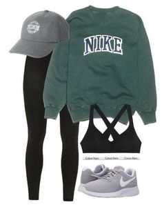 """"""" by ainlsley featuring NIKE, Victoria's Secret and Calvin Klein Underwear Image source mode trends voor de herfst winter van 2017 fashion trends for the winter of 2017 Comfy Outfits 2019 Lazy Day Outfits School Outfits 2019 Summer Fashion 2019 Teen F Hipster Outfits For Teens, Lazy Outfits, Sport Outfits, Trendy Outfits, Hipster Ideas, Comfy Teen Outfits, Lazy Day Outfits For School, Fall Hipster, Cute Sporty Outfits"""