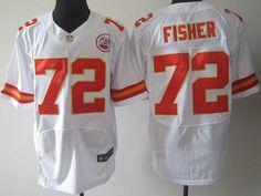 c35aa4b9f ... Mens NFL Kansas City Chiefs 72 Fisher Red Elite Jersey NFL Kansas City  Chiefs Jerseys Pinterest ...