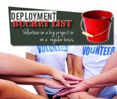 Deployment Bucket List