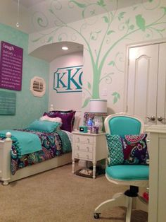 1000 ideas about teen room makeover on pinterest pb teen rooms teen bedding and king duvet - Nice girls rooms ...
