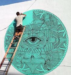 #streetart #art #thewaywardworld  follow @coletteahsekal for more