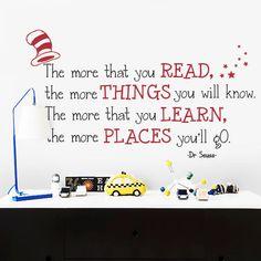 Dr.+Seuss+Quote+muur+Decal++sticker+van+de+muur+en+de+door+NameBlum