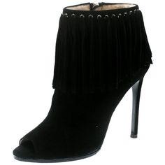 86e025ebc Dior Blush Pink & Black Leather Brooklyn Ankle Wrap Peep Toe Ankle ...