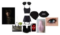 """My OC for The Walking Dead"" by pipergrace93 on Polyvore featuring Topshop, Dr. Martens, Nila Anthony, 3.1 Phillip Lim, UGG Australia, Lime Crime, women's clothing, women, female and woman"