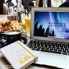 Singapore (Toby's Estate Coffee @tobysestatesg)  by Eleanor (@geekyelephant)  Use our app to find the best cafes and spaces to work from. -- Coffee and rainbow fries are all Eleanor needs at Toby's Estate Coffee in Singapore. -- #workhardanywhere