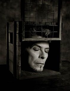 """I always had a repulsive need to be something more than huma""---david bowie (image by albert watson)"