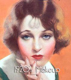 1920's-Flapper-Makeup look