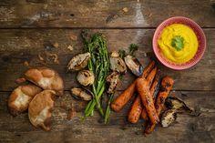 Hummus, Carrots, Vegetables, Food, Essen, Carrot, Vegetable Recipes, Meals, Yemek