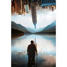 Mountain S, Photoshop, Landscape, Film, Building, Creative, Instagram, Design, Movie