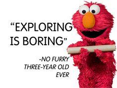 Start exploring now with Elmo at http://youtu.be/K3T_rjN6pMU! #STEM #preschool #LittleDiscoverers