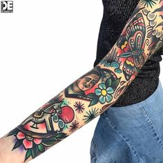 Sleeve Tattoos That Are Prettier Than Clothing