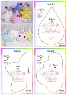Best 12 Easy 20 sewing projects projects are offered on our web pages. Take a look and you wont be sorry you did – SkillOfKing. Baby Pillows, Kids Pillows, Baby Crafts, Crafts For Kids, Felt Crafts Patterns, Baby Sewing Projects, Sewing Pillows, Sewing Toys, Felt Toys