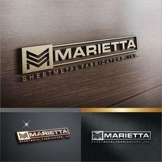 Heavy metal logo for a sheetmetal shop by Waldjinah