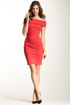 Halston Heritage Convertible Off-the-Shoulder Dress- Ahhh, I remember wearing this when I was 20.