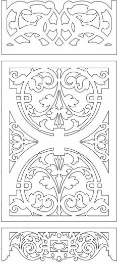 Aunt Martha's Iron On Transfer Patterns for Stitching, Embroidery or Fabric Painting, Patterns for Tea Towels/Kitchen Decor, Set of 5 - Embroidery Design Guide Stencil Patterns, Stencil Designs, Kirigami, Stencils, Cnc Cutting Design, Cnc Projects, Doodles Zentangles, Scroll Saw Patterns, Islamic Art