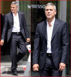 George Clooney Casual