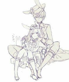 Ji Song, Tsukiuta The Animation, Kuroko, Kawaii, Manga, Drawings, Pairs, Anime, Pixiv