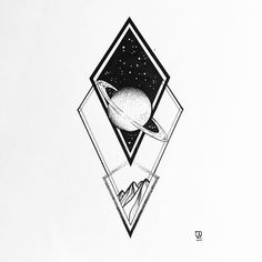 I'm really bad in captioning my work so you guys go ahead :) #illustration #illustrator #design #sketch #drawing #draw #tattoo #tattoodesign #linework #dotwork #blackwork #blackworkers #blackandwhite #planet #geometry #mountains #space #stars #minimal #art #artwork #artist #artistic #instaart #abstract #evasvartur #instafollow