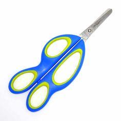 Linkshänder Trainingsschere mit zwei Griffen, zum Erlernen der feinmotorischen Fähigkeiten Scissors, Learning, Hair Scissors