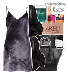 """""""  you're dropping kamikaze bombs on my nation  """" by melaning0ddess ❤ liked on Polyvore featuring Bioré, Victoria's Secret, Griffin, Urban Decay, Kat Von D, Jeffrey Campbell and Fleur du Mal"""