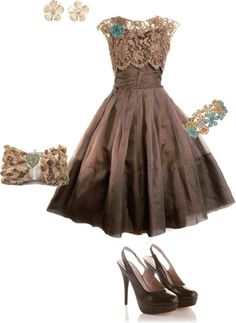 """""""Vintage Cocktail Dress"""" by erinlindsay83 on Polyvore"""