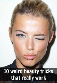 weird beauty tricks that really work!