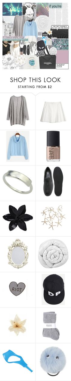 """""""we'll all take our chances"""" by kristen-gregory-sexy-sports-babe ❤ liked on Polyvore featuring Love Leather, Chanel, NARS Cosmetics, MCM, ASOS, Brinkhaus, Clips, Johnstons, Topshop and hannahs5kchallenge"""
