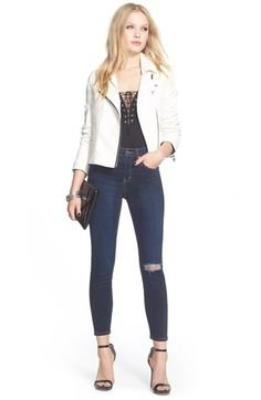 Four Ways To Make High Waist Skinny Jeans Slimming (Sydne Style ...