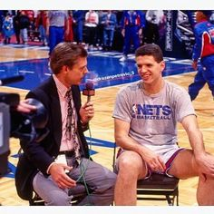 🎥🎞📷 #DrazenPetrovic #Media #Interview #Pregame #Warmup #NBA #NewJersey #Nets #DetroitPistons