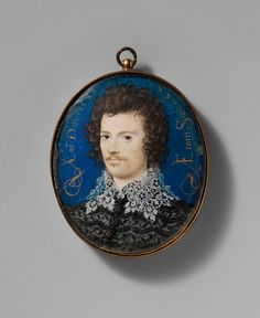 Portrait of a Young Man, Probably Robert Devereux (1566–1601), Second Earl of  Essex / Artist: Nicholas Hilliard (British, Exeter ca. 1547–1619 London)  Date: 1588  Medium: Vellum laid on card