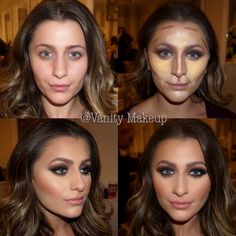 Highlighting and contouring can be your best friends as well as your worst enemies. Never overuse the powers granted to you! Humbleness can be a virtue!