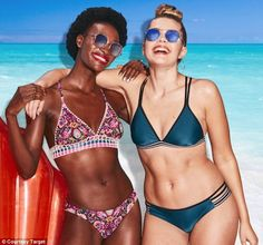 Targets new 2018 swimwear campaign features no Photoshop -  Target has revealed it hasn't used Photoshop on any of its 2018 swimwear campaign imagery  The budget retailer first stopped using Photoshop last year when it collaborated with positive activist Denise Bidot for its 2017 campaign  The brand has also added more sizes to its swimwear collection and is releasing 1700 different pieces for 2018  By Aoibhinn Mc Bride For Dailymail.com  Published: 17:46 EDT 19 March 2018 | Updated: 23:06…