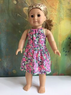A personal favorite from my Etsy shop https://www.etsy.com/listing/496569245/american-girl-sundress