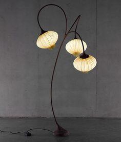 Design fabric floor lamp PALM TREE Aqua Creations